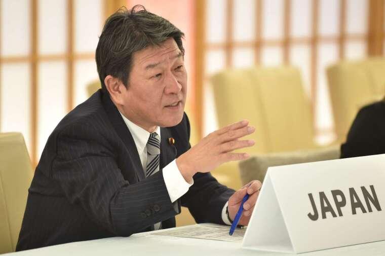 日本外長茂木敏充 (圖片:AFP)