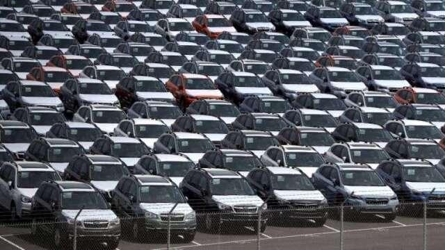 史上最差!歐洲4月汽車銷售暴跌76%(圖:AFP)
