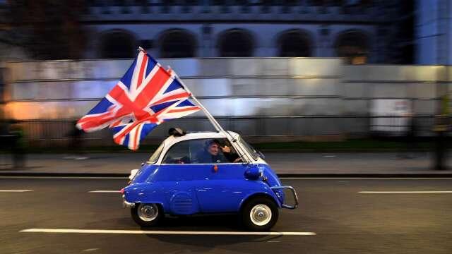 英國脫歐後新關稅制度明年上路 估6成進口產品享免關稅  (圖:AFP)