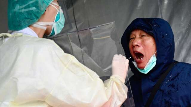 泰博搶先 首家與中研院完成新冠抗原檢測試劑合約。(圖:AFP)