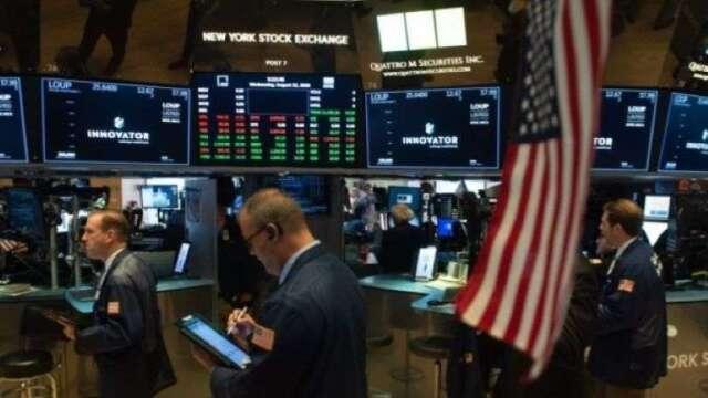 市場靜待鮑爾、梅努欽證詞 道瓊早盤跌逾100點    (圖:AFP)
