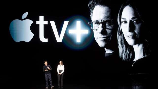 Apple TV+新舊節目混搭 與Netflix、Disney+爭天下(圖片:AFP)
