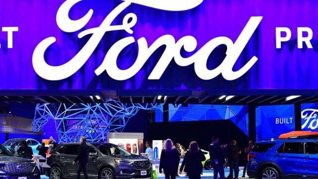 福特汽車將迎接川普參訪 為此放鬆戴口罩規定(圖:AFP)