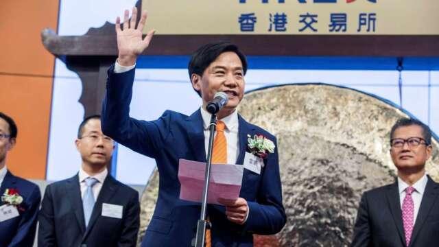 小米創辦人雷軍。(圖:AFP)