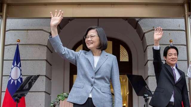 小英總統520就職演說重點觀察。(圖:AFP)
