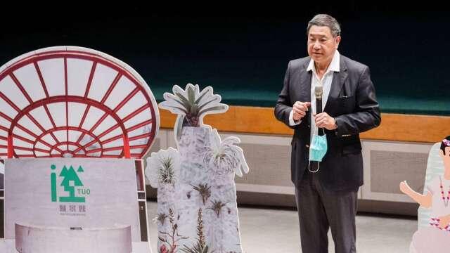 台泥董事長張安平今日出席「台泥 DAKA 紀實影片首映會」。(圖:台泥提供)