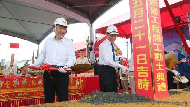 華固新莊廠辦拚2022年完工 新北:工業區立體化帶動投資211億元。(圖:新北市政府)