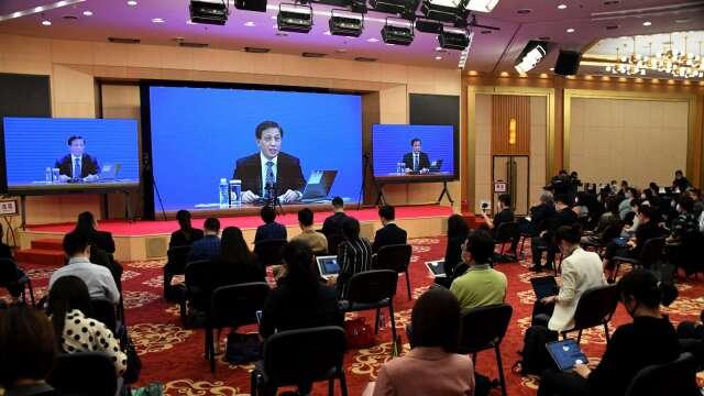中國人大擬議「香港國安法」 (圖片:AFP)