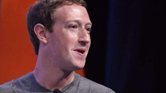 臉書執行長祖克伯說,未來5-10年半數員工將採遠距工作。(圖:AFP)