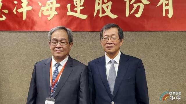 慧洋董事長藍俊昇(右)。(鉅亨網記者王莞甯攝)