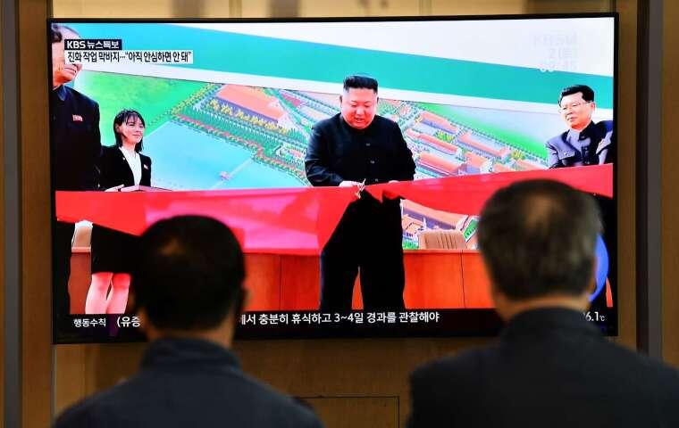 金正恩 5 月神隱三週 專家表示「不正常」(圖片:AFP)