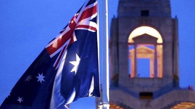 澳洲AAA級信評展望遭惠譽調降 估上半年經濟萎縮10%  (圖:AFP)