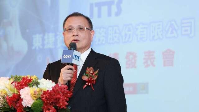 東捷資訊董事長高尚偉。(圖:東捷資訊提供)