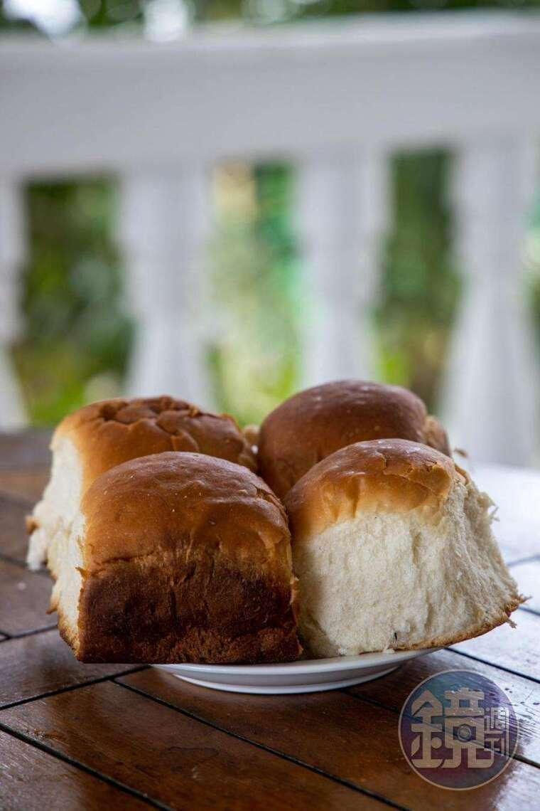 看起來簡單的麵包,在吐瓦魯嚐到卻感覺格外不容易。(澳幣1元起,約NT$20)