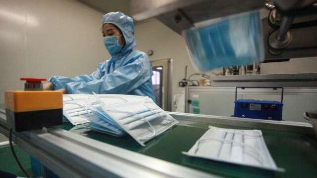 連43天無本土病例 口罩限購令估6/1解除 台廠可望外銷。(圖:AFP)