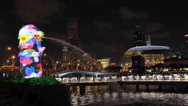 新加坡第3度下調全年GDP預測 估萎縮4%-7%(圖:AFP)