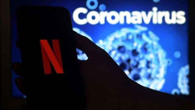 因疫情受益 4月份南韓Netflix訂閱人數創歷史新高(圖片:AFP)