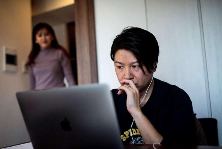 日立在疫情結束後 7 成員工仍將持續在家工作 (示意圖) (圖片:AFP)