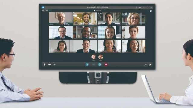 圓展攜手訊連擴大整合視訊軟硬體,提升資安服務。(圖:圓展提供)