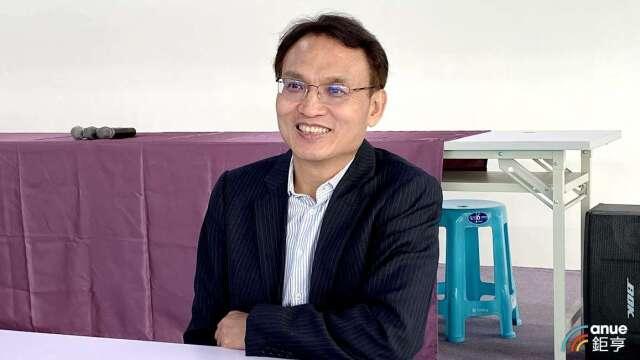 泰博董事長陳朝旺。(鉅亨網記者沈筱禎攝)