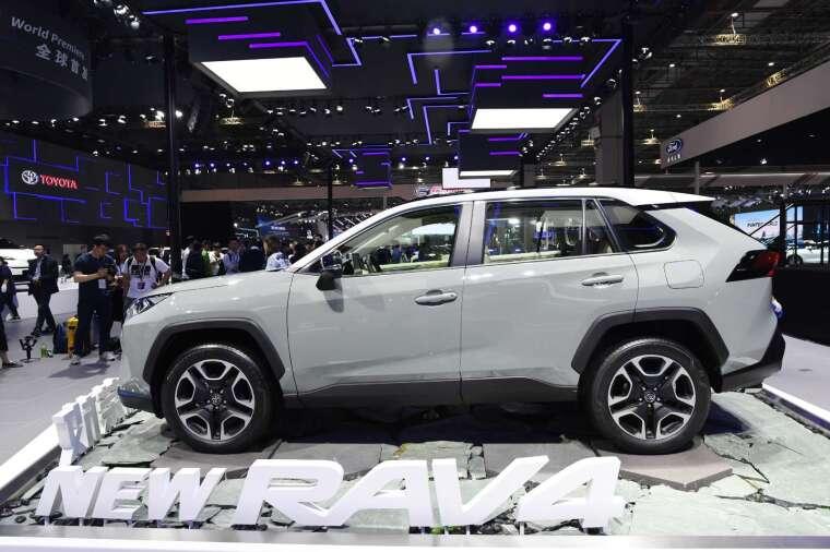 4 月日系車廠在中國銷量好轉 豐田、日產等優於去年 (圖片:AFP)