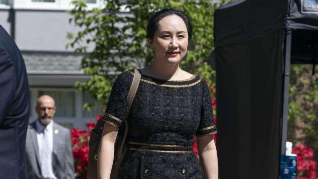 關鍵裁決敗訴!加國法院裁定華為孟晚舟符合雙重犯罪 (圖片:AFP)