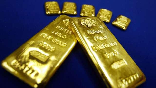 〈貴金屬盤後〉黃金收低 但中美緊張局勢加劇 助黃金脫離盤中低點(圖片:AFP)