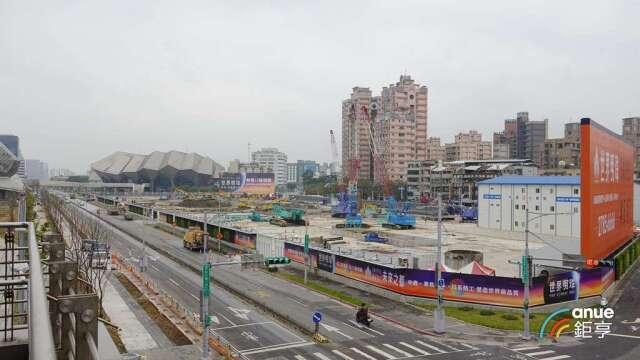 台北市新建案近10年來漲幅最低的行政區是南港區,漲幅22.4%。(鉅亨網記者張欽發攝)