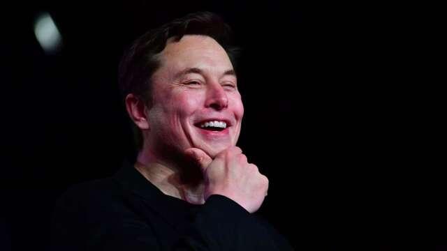 特斯拉執行長馬斯克(Elon Musk) (圖片:AFP)