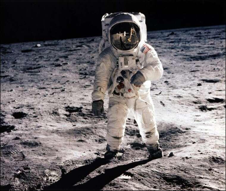 美國想要重返月球 (圖: AFP)