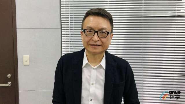 M31董事長林孝平。(鉅亨網記者魏志豪攝)