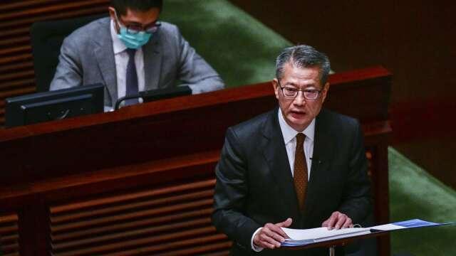 香港財政司司長:美制裁影響有限 聯匯制度穩定(圖片:AFP)