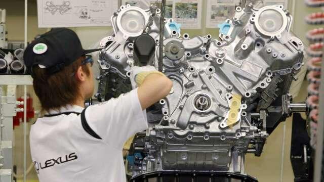 日本上季全產業營收減3.5% 設備投資增4.3% (圖片:AFP)