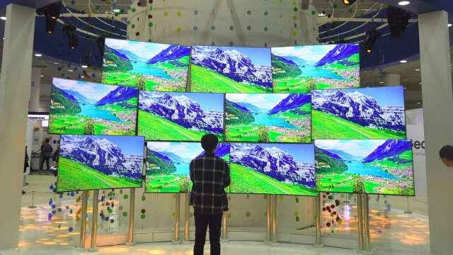 5月電視用LCD面板續跌 7至9月可能止跌? (圖片:AFP)