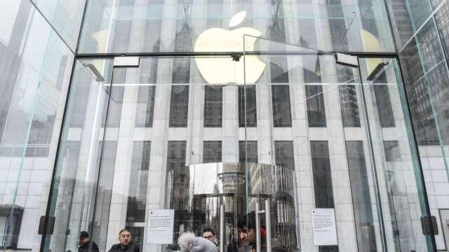 未來市值奔2兆美元!蘋果趁618購物節調降iPhone中國售價 (圖片:AFP)
