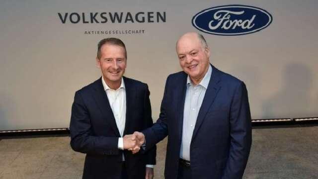 電動車與商用車事業都有! 福斯與福特汽車集團擴大合作關係