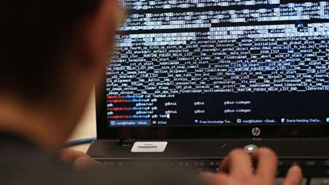 報稅系統驚傳每天有駭客敲門 資安概念股連日大漲。(圖:AFP)