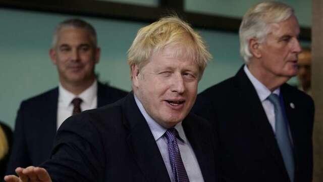 脫歐末輪談判不順 歐盟懷疑英國無意達成貿易協議   (圖:AFP)