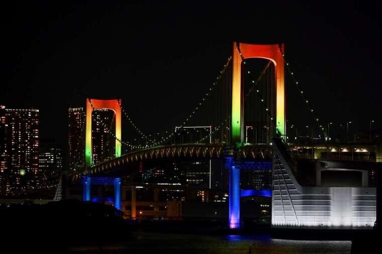 東京彩虹大橋 (圖片:AFP)