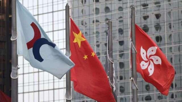 中國人大日前通過香港國安法,市場預期將引發資金挪移潮。(圖:AFP)
