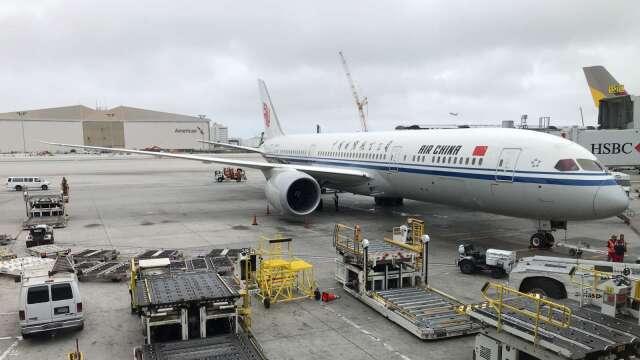 美運輸部證實:禁止中國航班飛抵美國 6/16生效  (圖片:AFP)