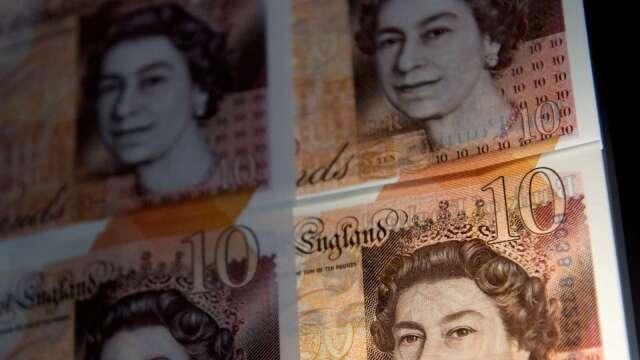 英國硬脫歐憂慮重燃 調查:不延長過渡期英鎊將下挫(圖:AFP)