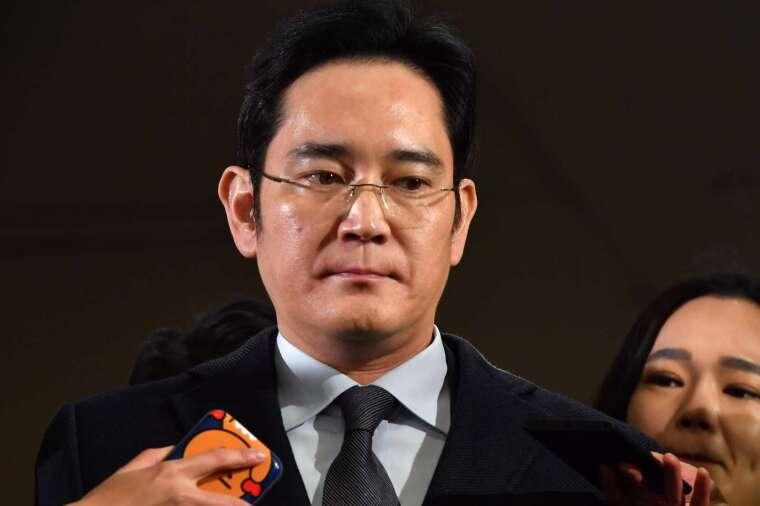 三星電子副會長暨集團掌門人李在鎔 (圖片:AFP)