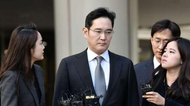 南韓檢方向法院聲請三星少東李在鎔的逮捕令 (圖片:AFP)