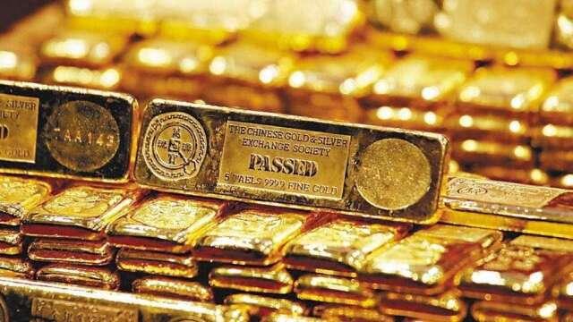 黃金ETF今年1-5月流入金額刷歷史新高,超越2009全年締造的歷史紀錄。(圖:AFP)