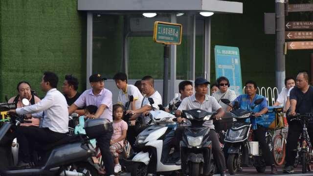 「地攤經濟」真能拯救中國的後疫情時代嗎?    (圖片:AFP)