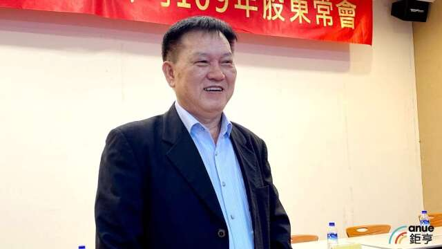 泰碩董事長余清松。(鉅亨網記者沈筱禎攝)