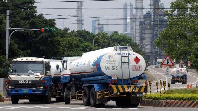 下周油價估連六漲創3個月新高 92無鉛汽油重返20元。(圖:AFP)
