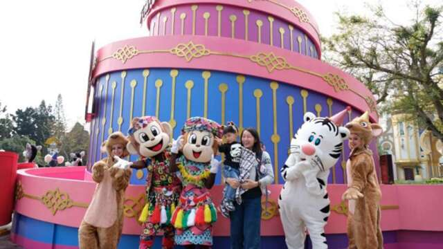 安心國旅補助再釋利多 19歲以下學子暑假免費暢玩22家遊樂園。(圖:六福提供)