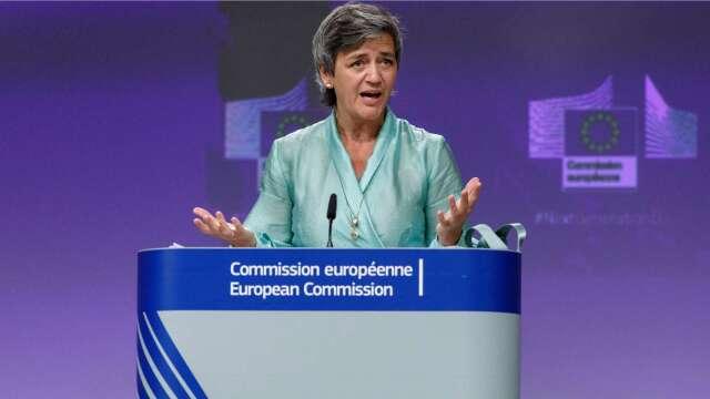 歐盟反壟斷專員Margrethe Vestager(圖片:AFP)